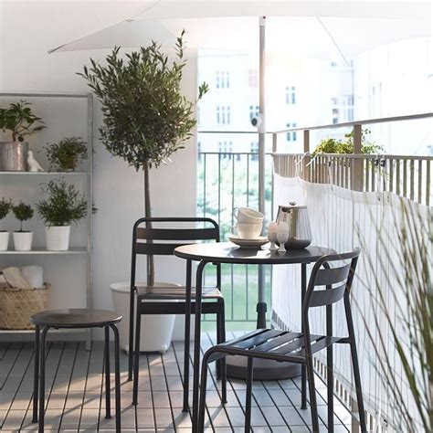 Outdoor Chairs For Balcony by Modern Balcony Furniture Ideas By Ikea With Small