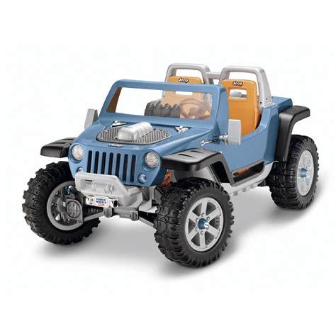Jeep Hurricane Power Wheels Modifications