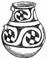 Pottery Jar Clipart Ceramic Ceramics Mexican Clip Lg Cliparts Library Etc Medium Usf Edu sketch template