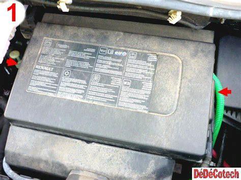 changer fusibles upc compartiment moteur renault scenic