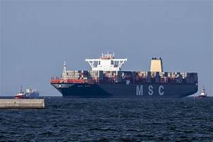 The largest container carrier in the world called at DCT ...
