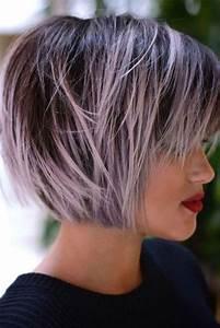 Couleur Ou Meche Pour Cacher Cheveux Blancs : coupe carr 2019 150 coupes pour avoir la t te au carr en 2019 id es cheveux coiffure et ~ Melissatoandfro.com Idées de Décoration