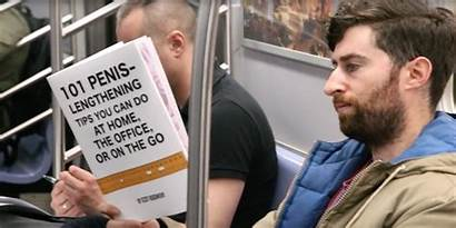 Fake Subway Covers Metroda Kitaplari Okumaya Izle