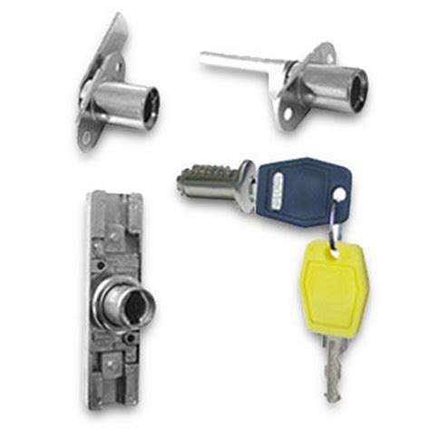 file cabinet lock kit made of zinc alloy with two one