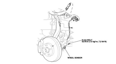 repair anti lock braking 2006 honda accord transmission control repair guides anti lock brake system abs wheel speed sensors autozone com