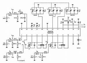 Am  Fm Radio Receiver Circuit Using Tea5710 Bimos Ic  U2013 Circuit Wiring Diagrams