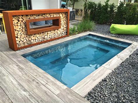 Kleiner Pool Im Garten  Pool Für Kleine Grundstücke