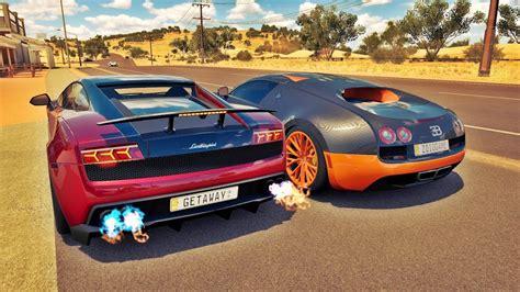 Bugatti Veyron Vs Lamborghini Gallardo
