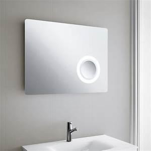 Miroir Salle De Bain Lumineux : miroir lumineux led salle de bain 80 95x60 cm ~ Melissatoandfro.com Idées de Décoration