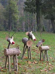 25 unique Outdoor christmas decorations ideas on