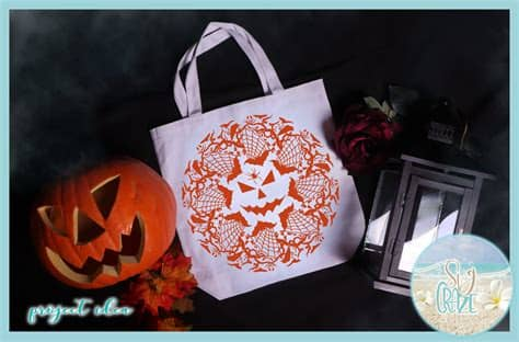 These are released under creative. Spooky Bats Spiders Eyes Halloween Mandala Zentangle SVG ...