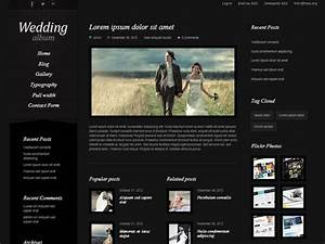 20 best wedding website templates css html wordpress for Best wedding photography websites