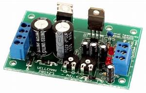Adjustable Symmetric 1 To 24vdc  1a Power Supply
