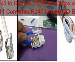 Connect Rj11 To Rj45 Wiring Diagram Nice Rj11 Wall Plate