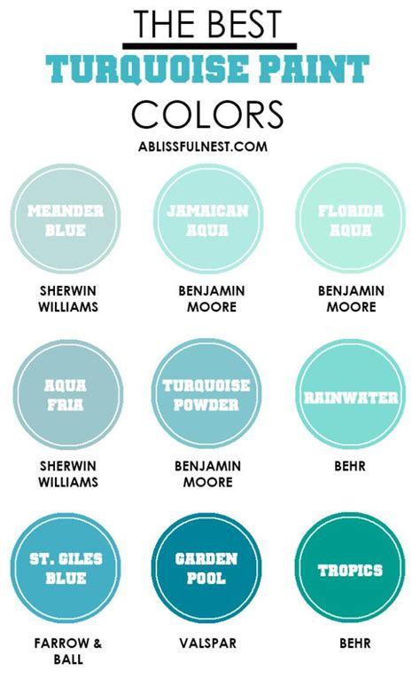 blue turquoise paint colors paint color ideas