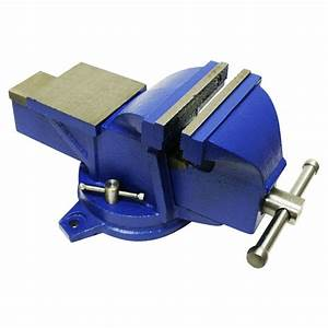 Clamps & Vises - Bench Vise Swivel Base Heavy Duty with
