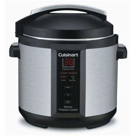 cuisine t cuisinart 6 qt electric pressure cooker cpc 600 the