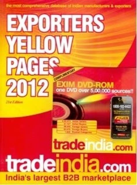 india yellow pages indian business exporters yellow pages of india book cd buy