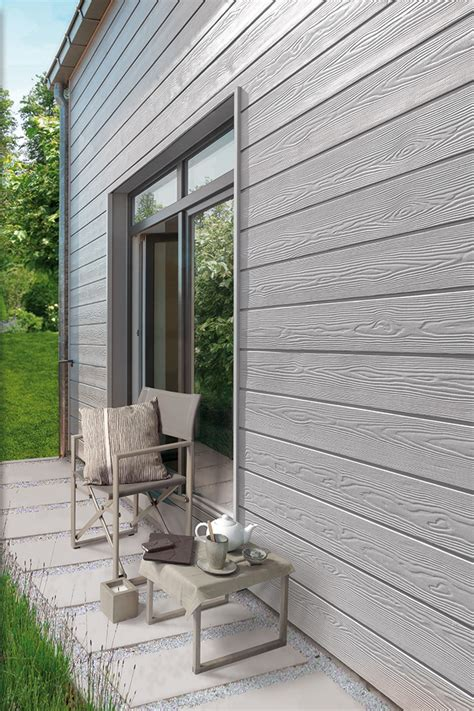 eternit cedral click cedral click lames de bardage fibres ciment aspect bois