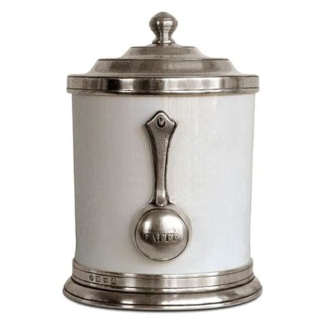 Kitchen Canisters Pewter by Italian Pewter Lidded Jars Canisters Cosi Tabellini