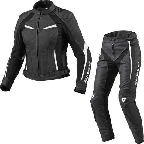 bike leathers rev it xena ladies motorcycle leather jacket trousers