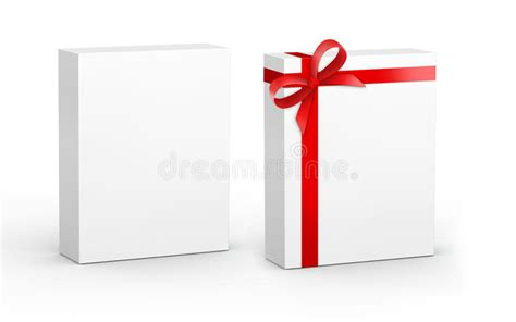 Product Box With Gift Stock Illustration. Illustration Of