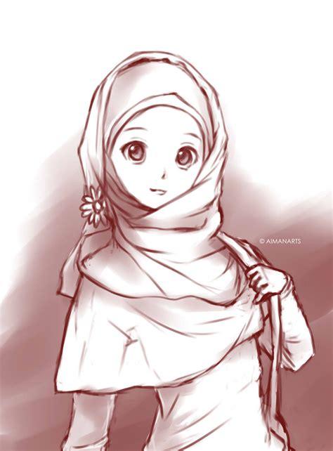 muslimah cartoon wallpaper group pictures