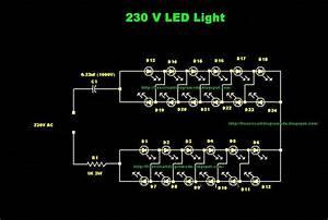 Free Circuit Diagrams 4u  230v Led Light