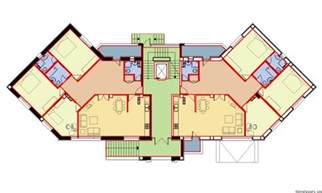 residential blueprints residential building at antarain 136 5