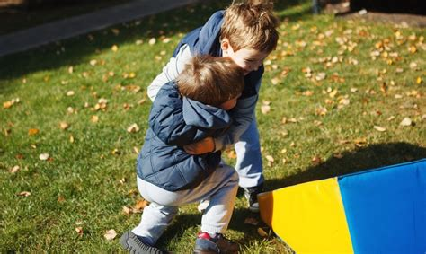 Rough-and-Tumble Play - Partnerships for Early Learners