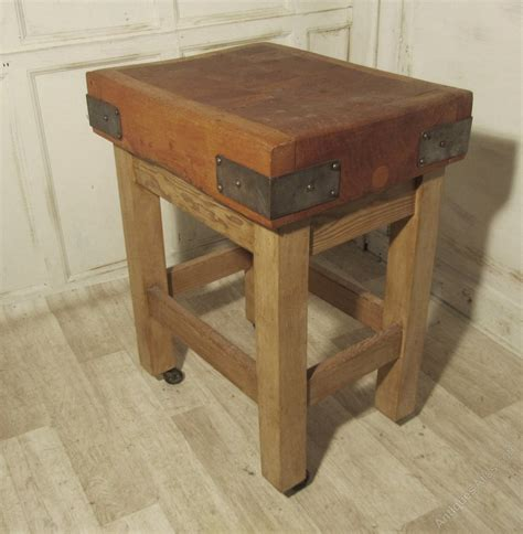A Good Maple Butchers Block Chopping Table Board