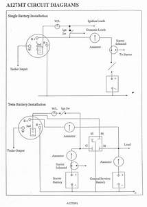 Creative Lucas A127 Alternator Wiring Diagram Fine