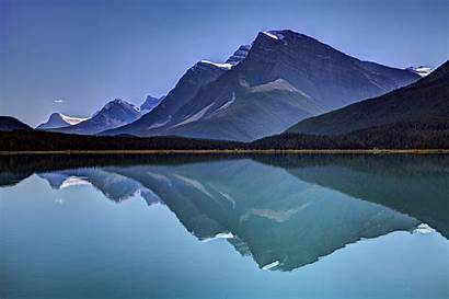 Reflection Lake Landscape Water Mountain Wallpapers Nature