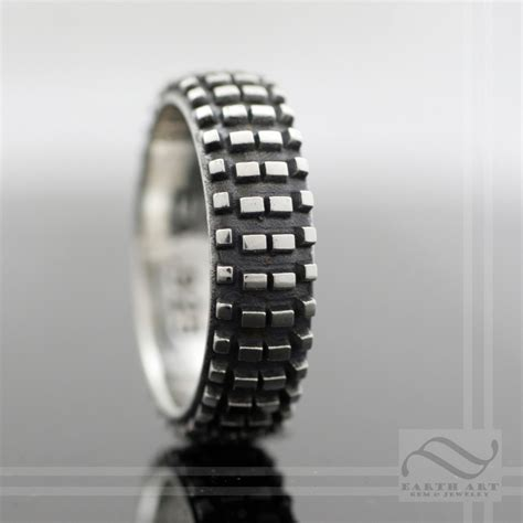 Dirt Bike Tire Tread Ring Sterling Silver. Celebrity Hollywood Engagement Engagement Rings. Traditional Diamond Wedding Rings. Double Halo Engagement Ring Set Wedding Rings. Michele1218 Wedding Rings. Stone Rings. Bronze Coin Rings. Standard Rings. Masculine Men Wedding Rings