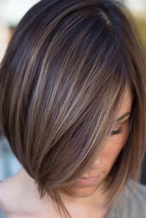haircuts for brown hair best 25 lowlights for hair ideas on 4072