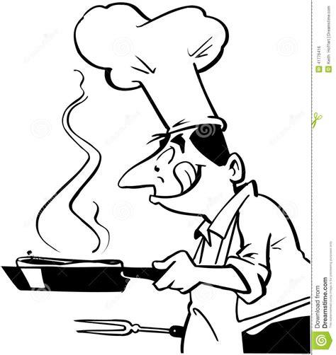 clipart cucina cuoco unico cucina clipart di vettore fumetto dell