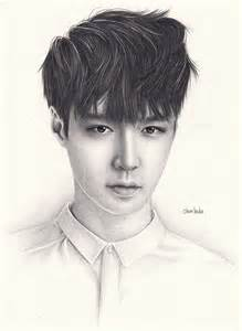 Lay EXO Drawing