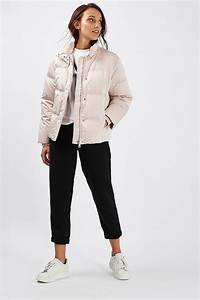 Quilted Puffer Jacket - Topshop