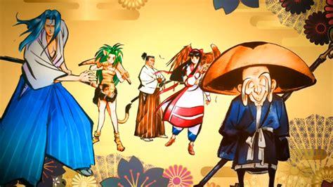 neo geo fighting game samurai shodown  launches