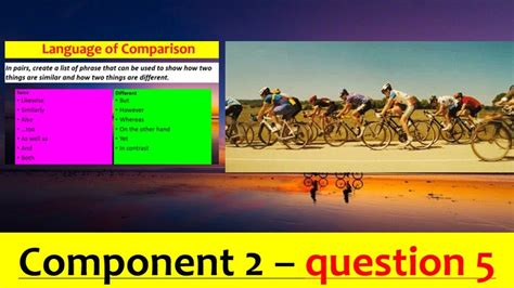 Download previous year's question papers with solutions pdfs. EDUQAS GCSE English Language Paper 2 Question 5 (Cycling) - YouTube