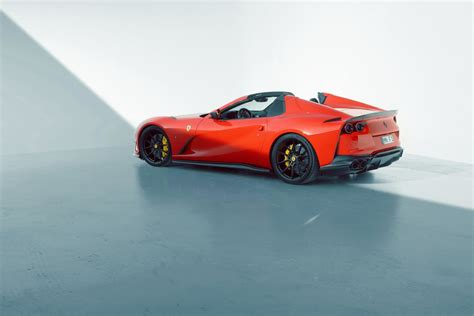 Novitec's skilled team can craft a new interior from alcantara or leather to your heart's content. Novitec Reveals 840hp Ferrari 812 GTS - GTspirit