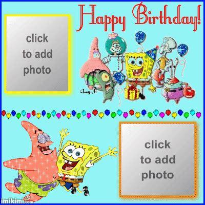 spongebob birthday card template spongebob birthday background 2 background check all
