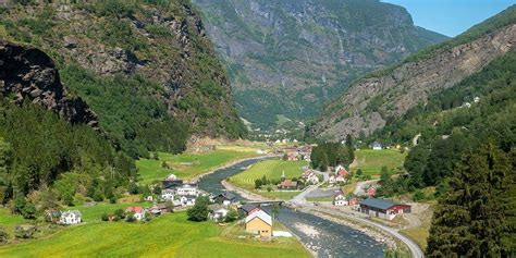 The Flam Railway Norway One Of The Most Beautiful Train