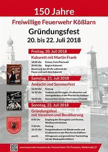 Gründungsfest Feuerwehr Kößlarn