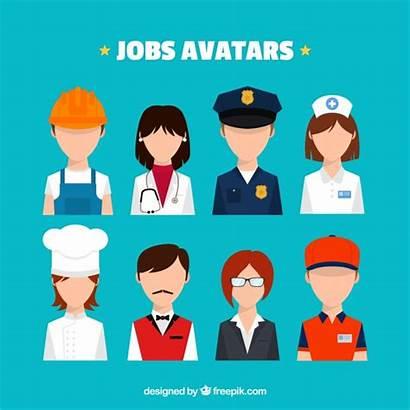 Trabajo Jobs Freepik Avatars Pack Gratis Avatar