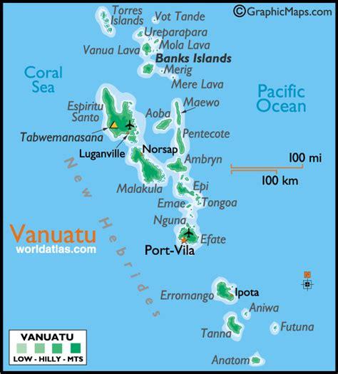 vanuatu  flew home port vila tanna port vila