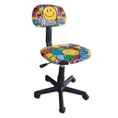fauteuil de bureau baquet smiley chaise de bureau enfant petit modèle achat