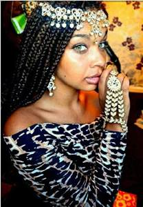 Jewelry Box Braids with Hair