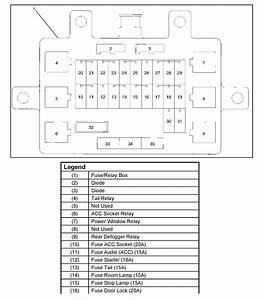 Isuzu Trooper Fuse Box Diagram   30 Wiring Diagram Images