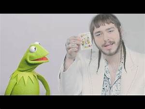Kermit The Frog Covers Rockstar Feat 21 Savage By Post